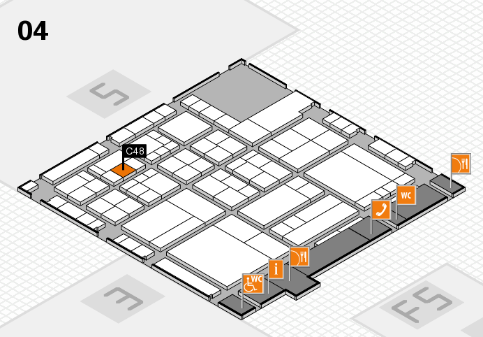 interpack 2017 hall map (Hall 4): stand C48