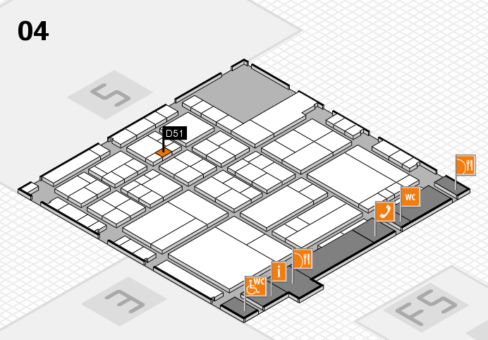 interpack 2017 hall map (Hall 4): stand D51