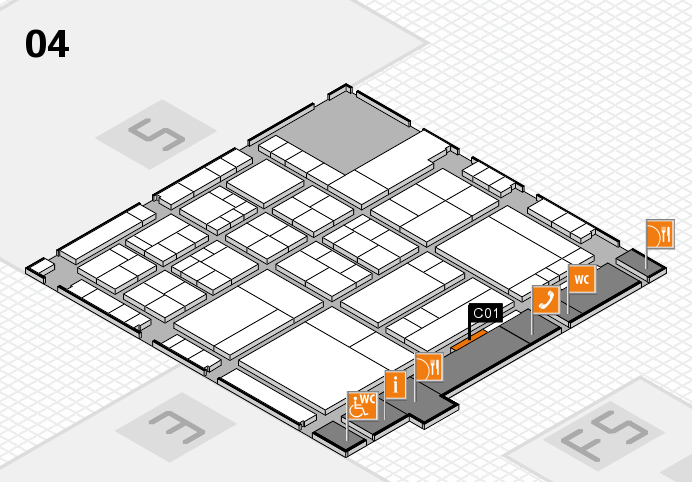 interpack 2017 hall map (Hall 4): stand C01