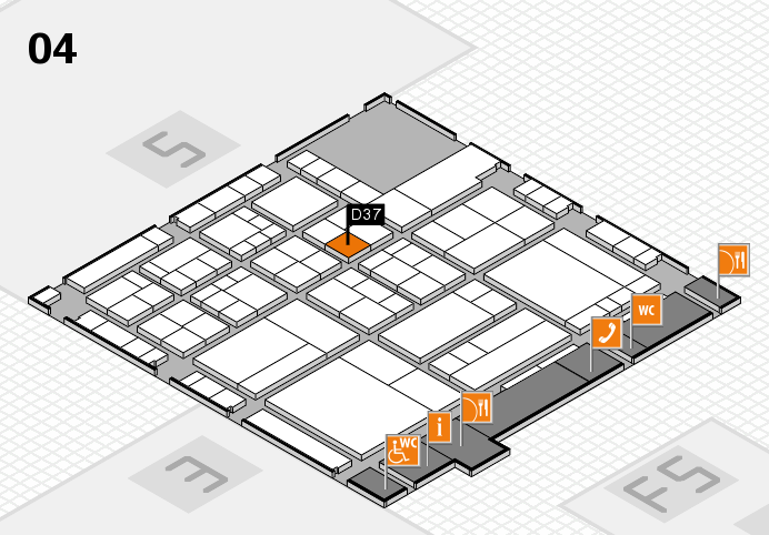 interpack 2017 hall map (Hall 4): stand D37