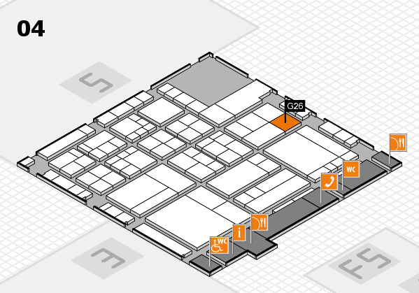 interpack 2017 hall map (Hall 4): stand G26
