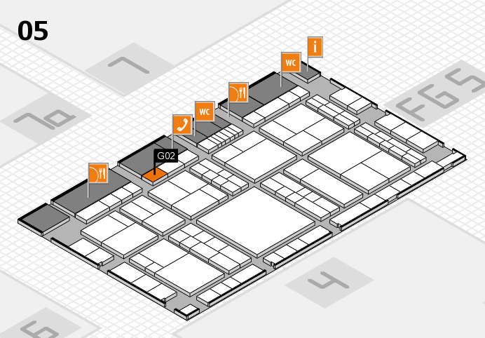 interpack 2017 hall map (Hall 5): stand G02