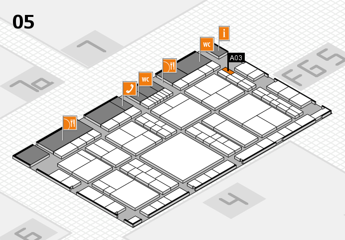interpack 2017 hall map (Hall 5): stand A03