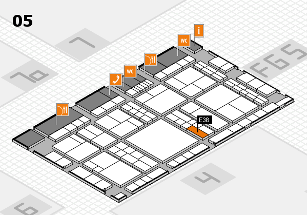 interpack 2017 hall map (Hall 5): stand E38