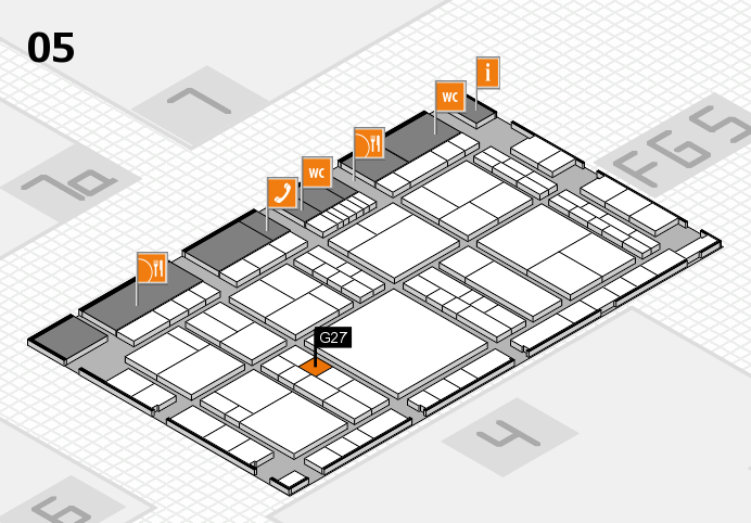 interpack 2017 hall map (Hall 5): stand G27