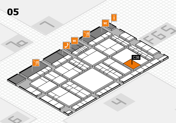 interpack 2017 hall map (Hall 5): stand C38