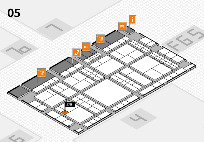 interpack 2017 hall map (Hall 5): stand J28