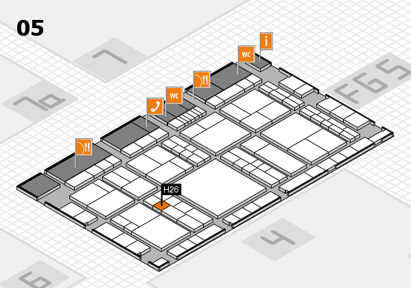 interpack 2017 hall map (Hall 5): stand H26