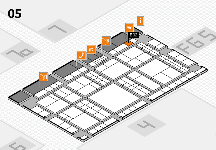 interpack 2017 hall map (Hall 5): stand B02