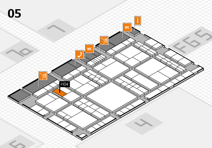 interpack 2017 hall map (Hall 5): stand H04