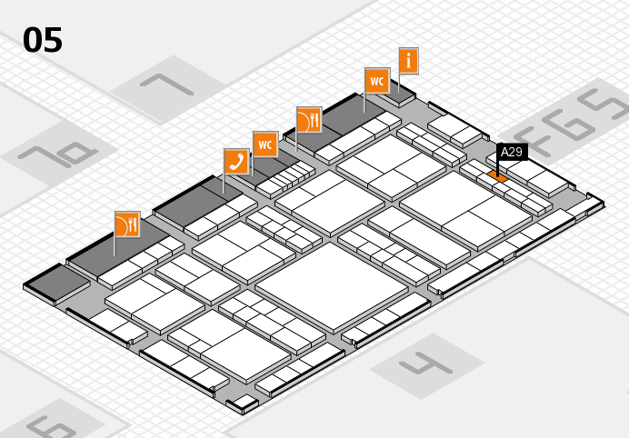 interpack 2017 hall map (Hall 5): stand A29