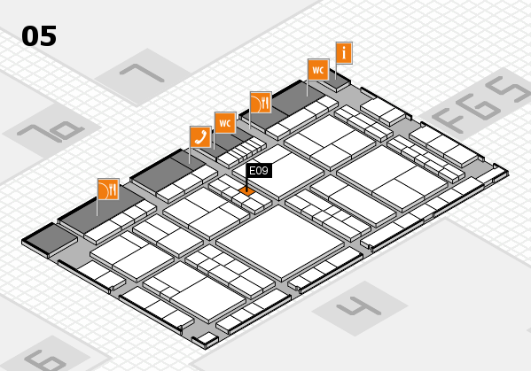 interpack 2017 hall map (Hall 5): stand E09