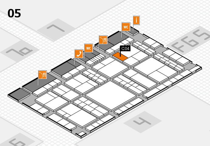 interpack 2017 hall map (Hall 5): stand C04