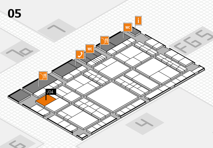 interpack 2017 hall map (Hall 5): stand J04