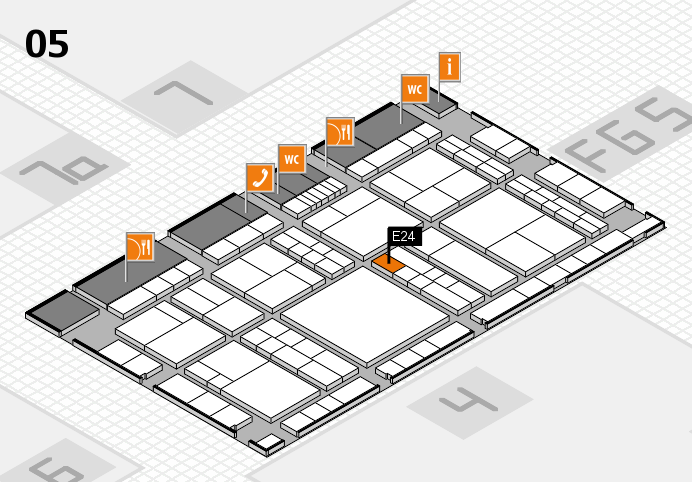 interpack 2017 hall map (Hall 5): stand E24