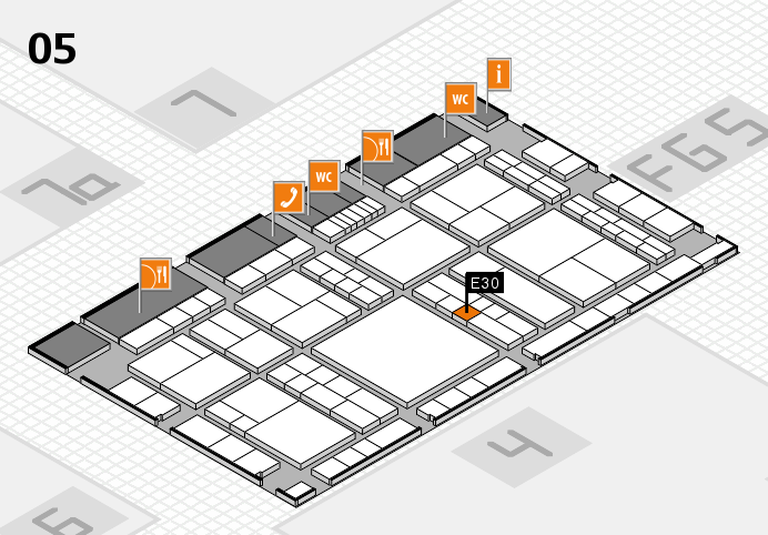 interpack 2017 hall map (Hall 5): stand E30