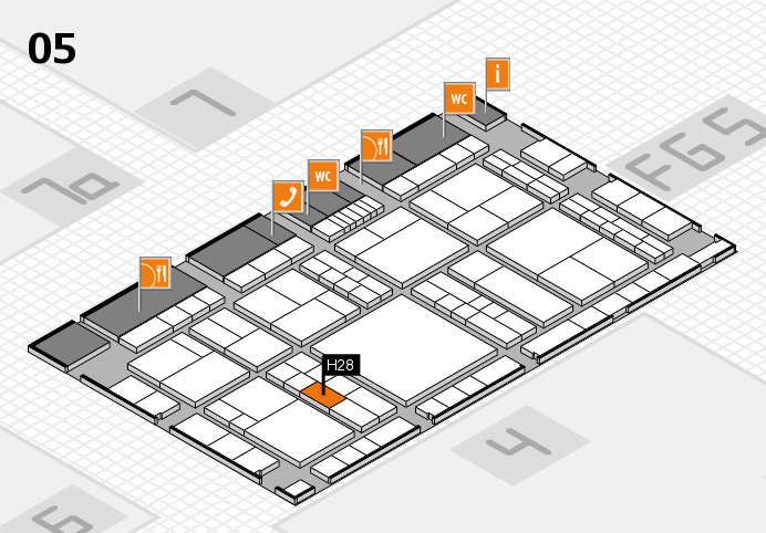 interpack 2017 hall map (Hall 5): stand H28