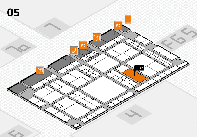 interpack 2017 hall map (Hall 5): stand C37