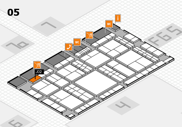 interpack 2017 hall map (Hall 5): stand J02