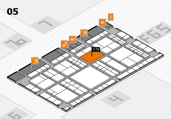 interpack 2017 hall map (Hall 5): stand C19
