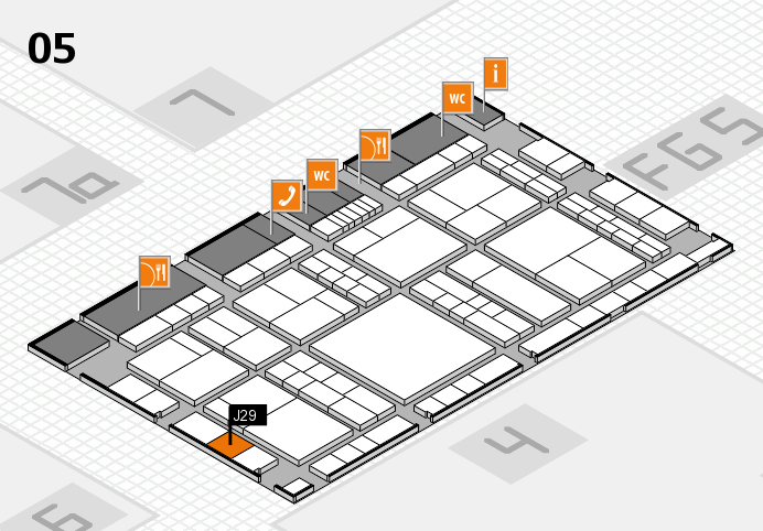 interpack 2017 hall map (Hall 5): stand J29