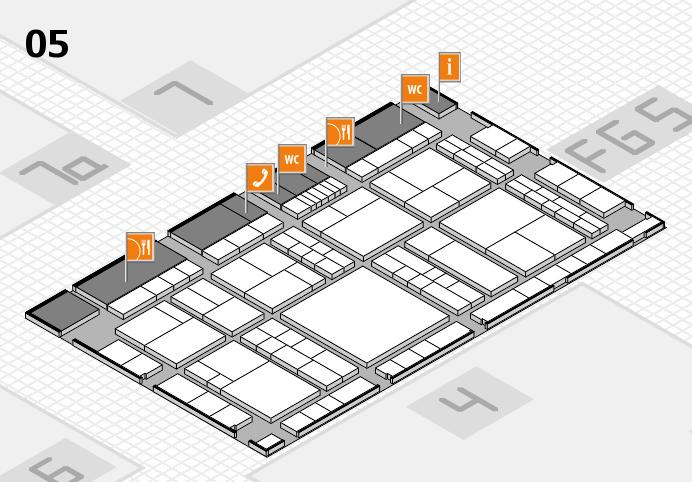 interpack 2017 Hallenplan (Halle 5): Stand A42
