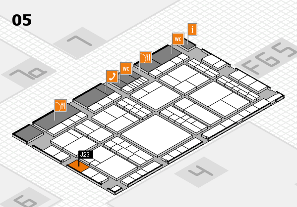 interpack 2017 hall map (Hall 5): stand J23
