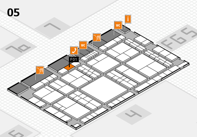 interpack 2017 Hallenplan (Halle 5): Stand F01