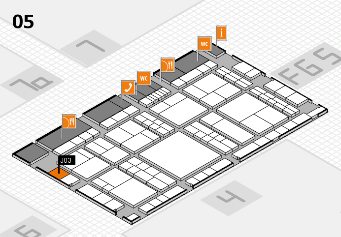 interpack 2017 hall map (Hall 5): stand J03