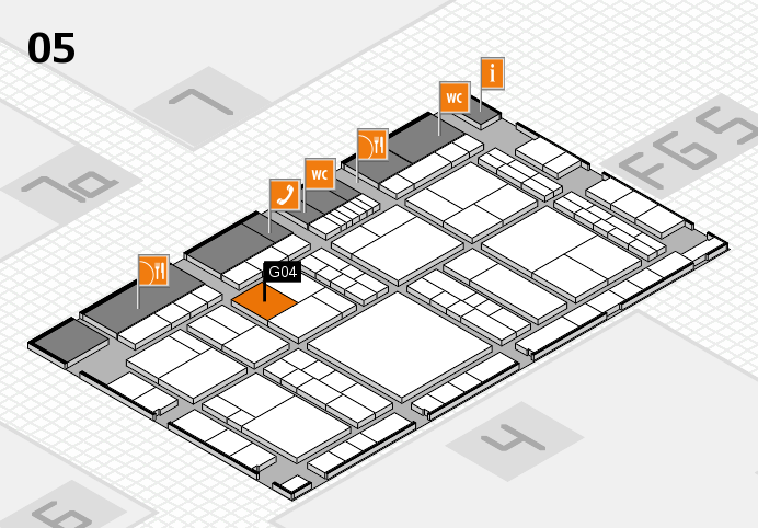 interpack 2017 hall map (Hall 5): stand G04