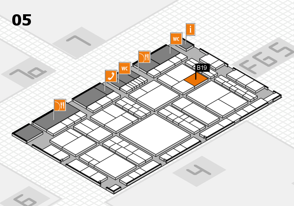 interpack 2017 hall map (Hall 5): stand B19