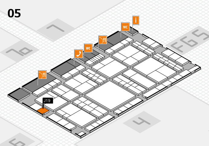 interpack 2017 hall map (Hall 5): stand J19