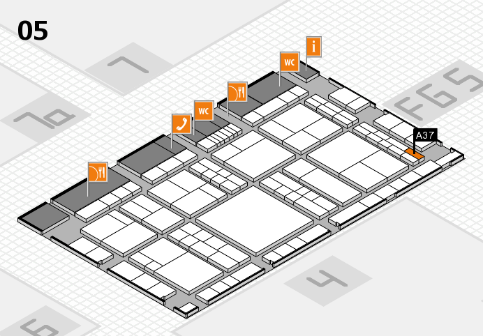 interpack 2017 Hallenplan (Halle 5): Stand A37