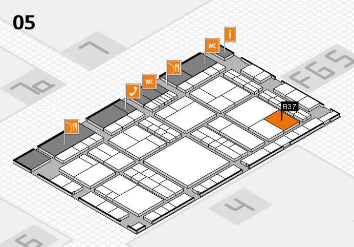 interpack 2017 hall map (Hall 5): stand B37