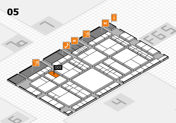 interpack 2017 hall map (Hall 5): stand G03