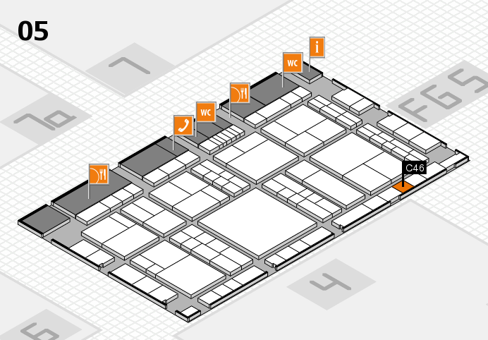 interpack 2017 hall map (Hall 5): stand C46