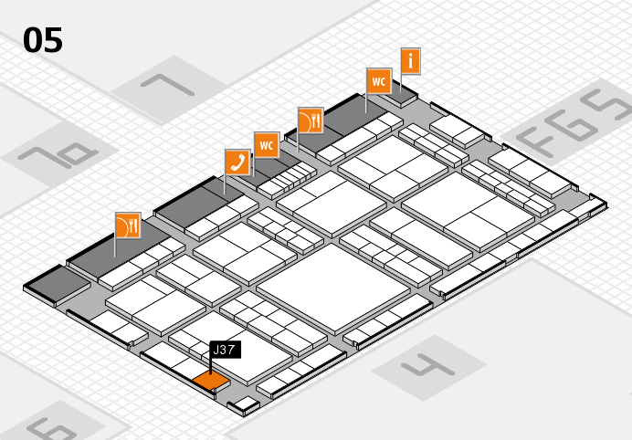 interpack 2017 hall map (Hall 5): stand J37