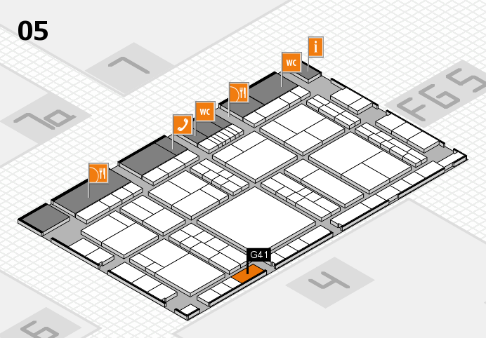 interpack 2017 hall map (Hall 5): stand G41