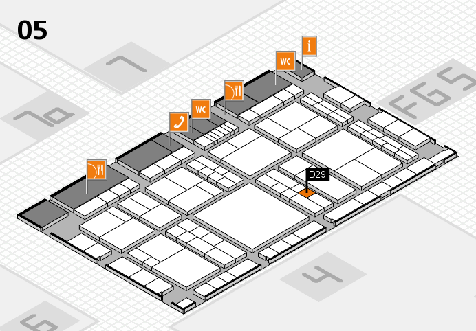 interpack 2017 hall map (Hall 5): stand D29