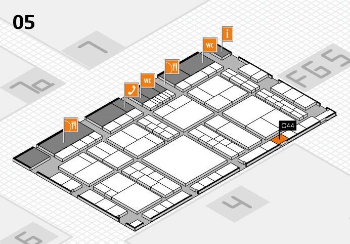 interpack 2017 hall map (Hall 5): stand C44