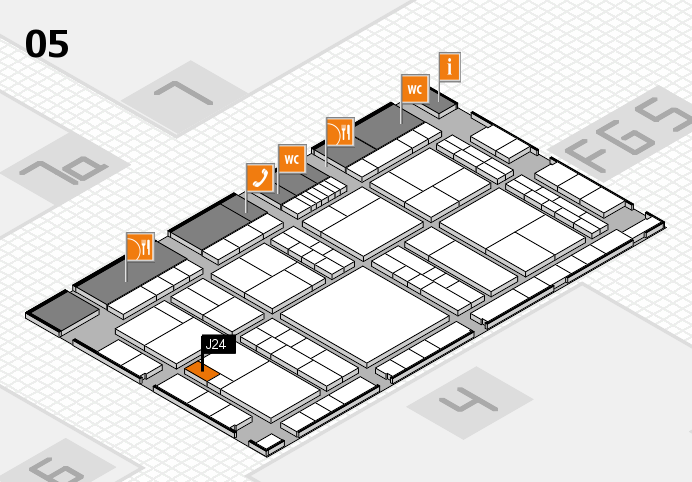 interpack 2017 hall map (Hall 5): stand J24