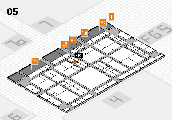 interpack 2017 hall map (Hall 5): stand F10
