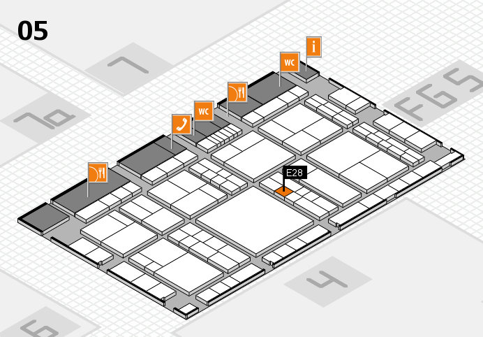 interpack 2017 hall map (Hall 5): stand E28