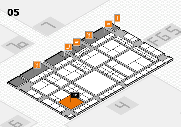 interpack 2017 hall map (Hall 5): stand J38