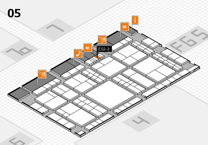interpack 2017 hall map (Hall 5): stand E02-3