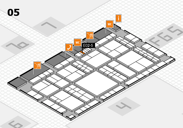 interpack 2017 hall map (Hall 5): stand E02-5