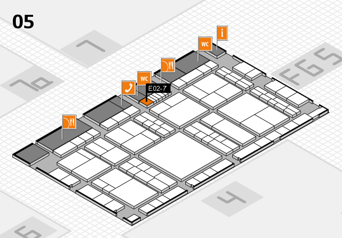 interpack 2017 hall map (Hall 5): stand E02-7