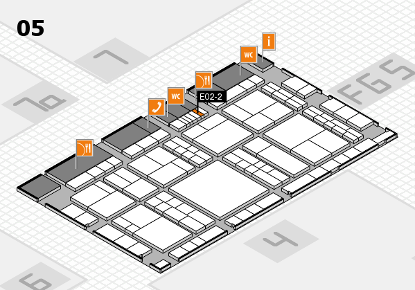 interpack 2017 hall map (Hall 5): stand E02-2