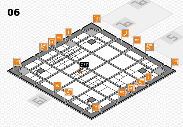 interpack 2017 hall map (Hall 6): stand C37