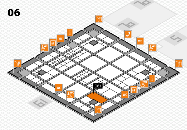 interpack 2017 hall map (Hall 6): stand D61